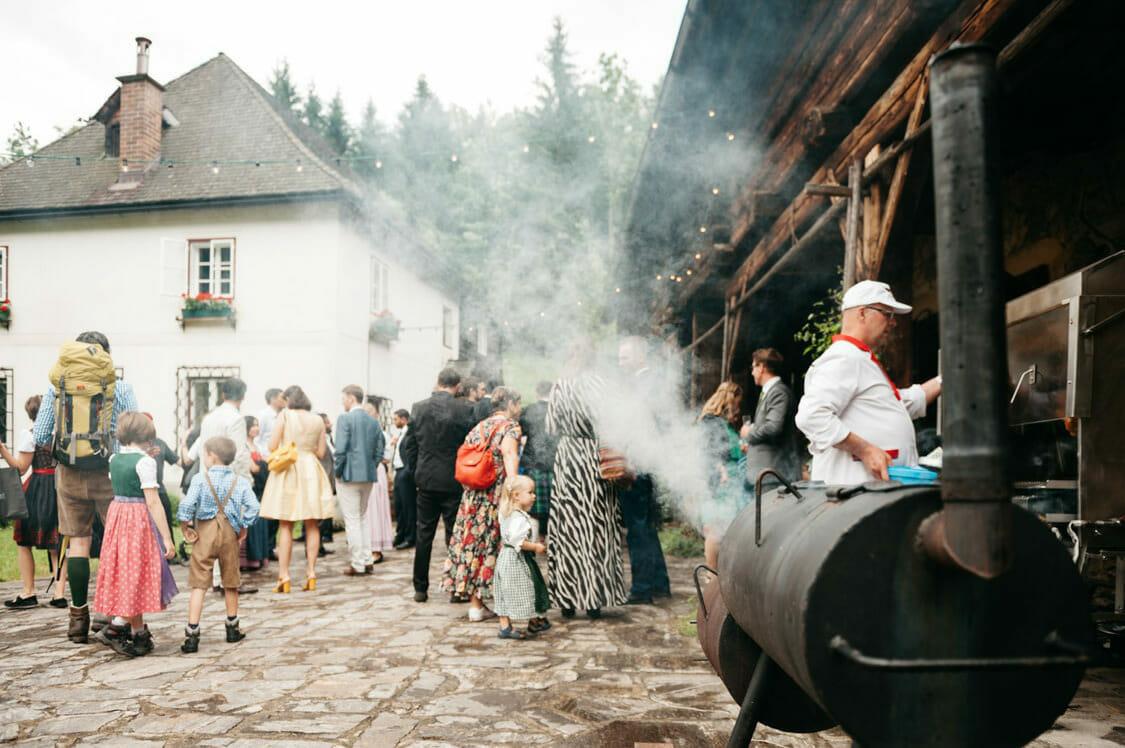 Hochzeitsfotograf Hochzeit Alm Berge Obersteiermark Vintage Tom Schuller 19