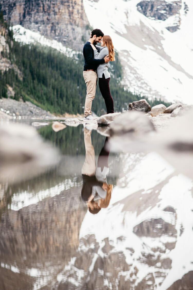 Engagement Session Moraine Lake Canada 003