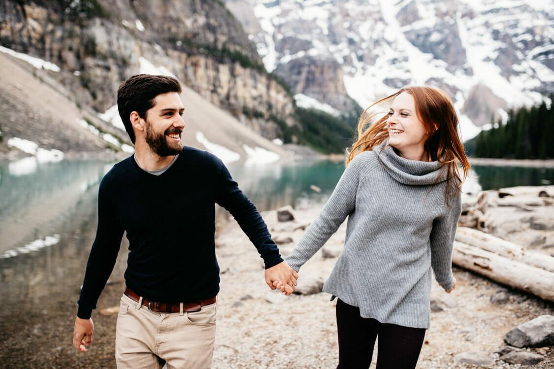Engagement Session Moraine Lake Canada 006