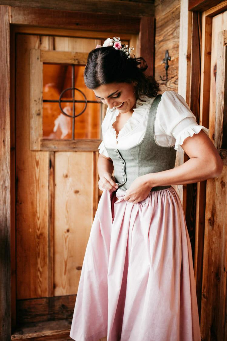 Hochzeitsfotograf Salzburg Abtenau Sonnleitn Bauernhof Tracht Lederhose Dirndl 013