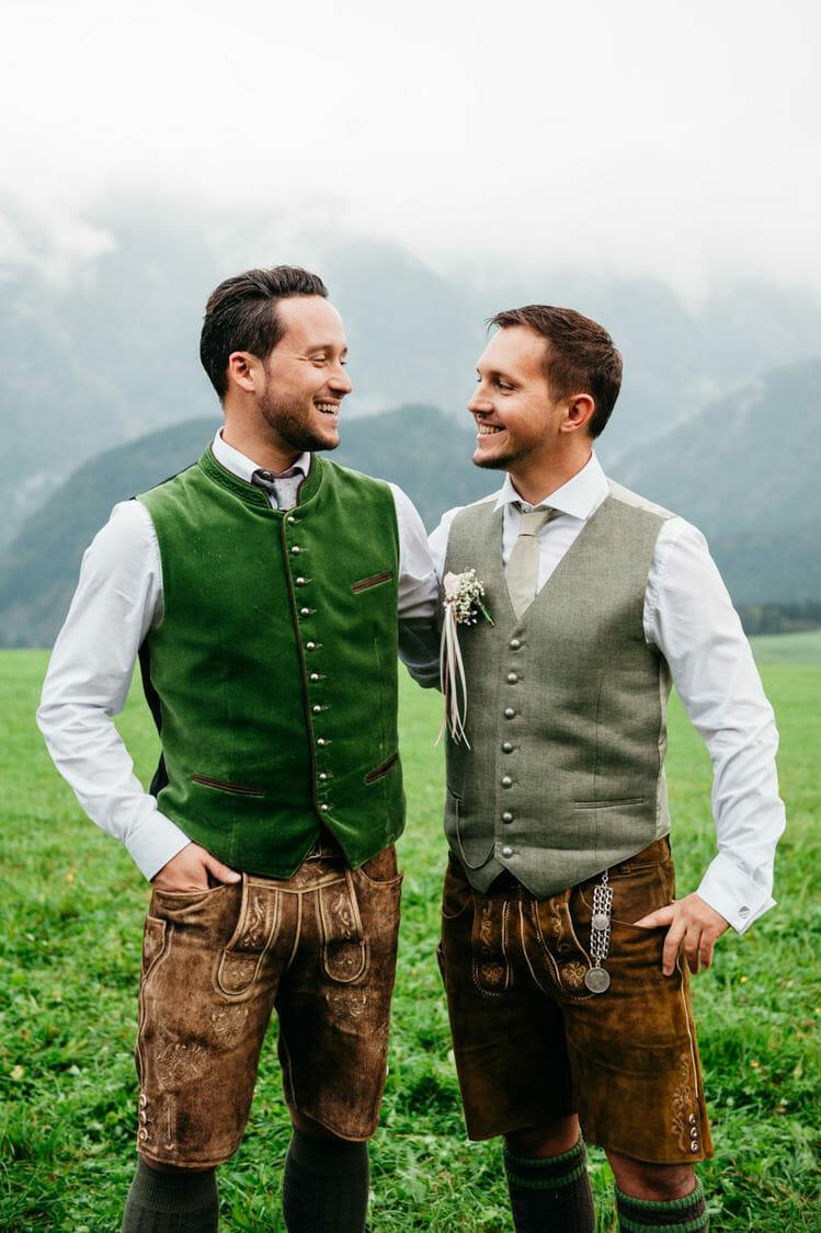 Hochzeitsfotograf Salzburg Abtenau Sonnleitn Bauernhof Tracht Lederhose Dirndl 051