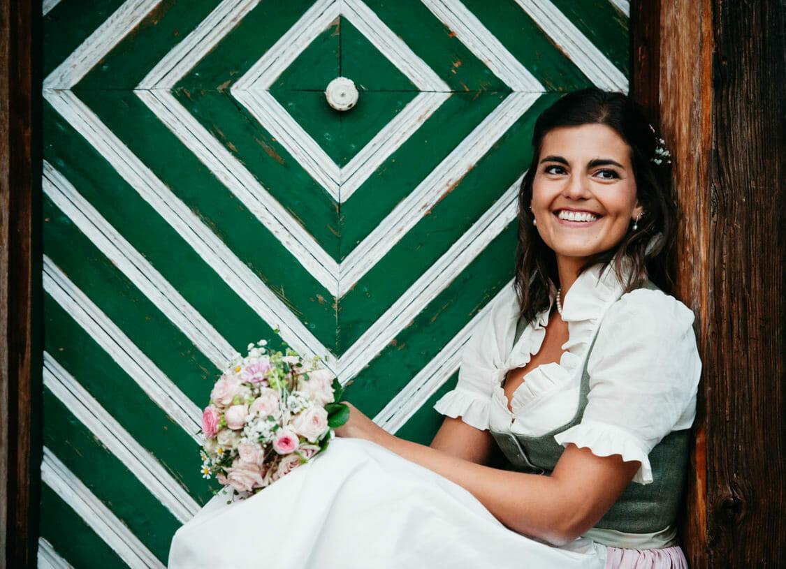 Hochzeitsfotograf Salzburg Abtenau Sonnleitn Bauernhof Tracht Lederhose Dirndl 059