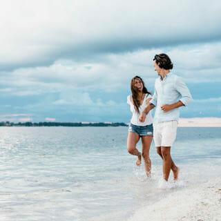 Verlobungsfotos Strand