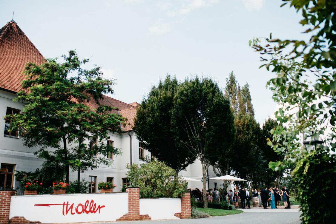 Hochzeit Weinschloss Thaller Pavillon 2
