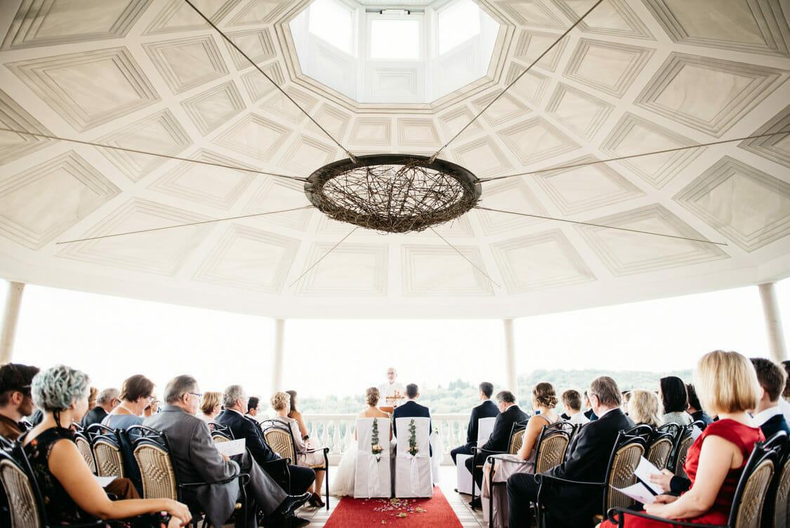 Hochzeit Weinschloss Thaller Pavillon 25